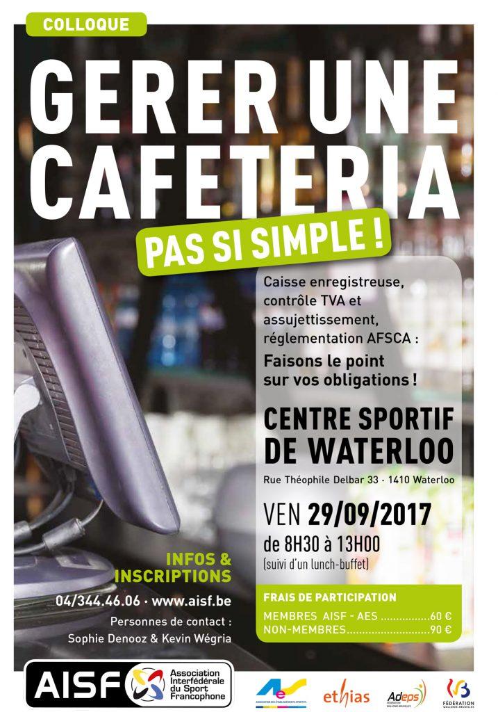 Colloque | Gérer une cafétéria : Pas si simple !
