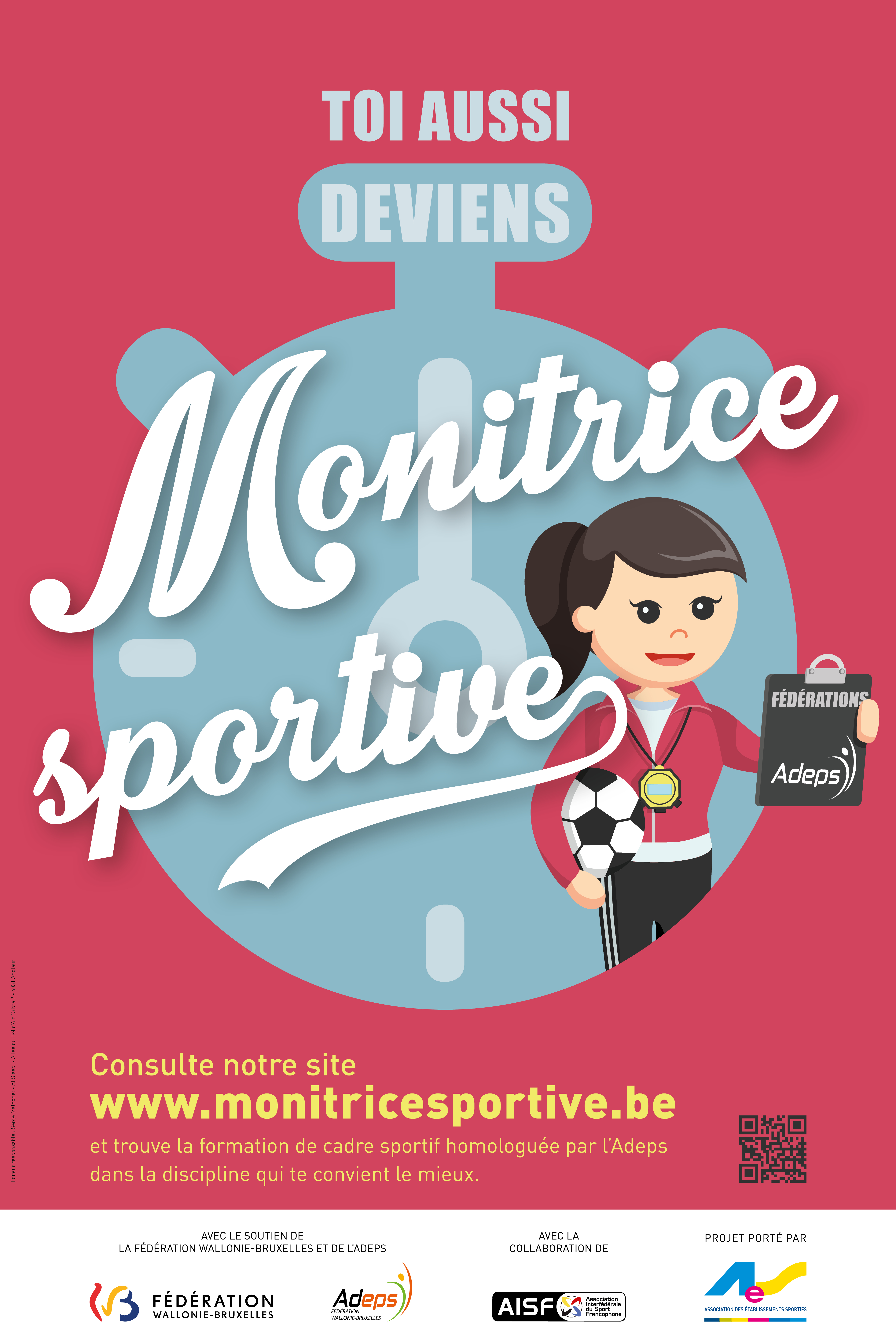 Campagne « Deviens monitrice sportive »